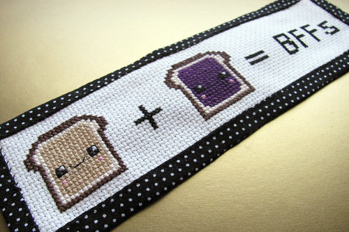 Day 13: Toast BFFs Bookmark