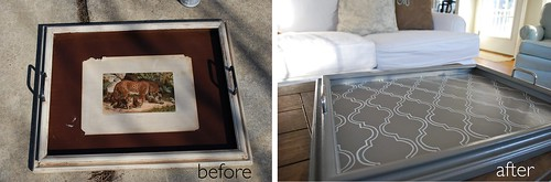 tray transformation