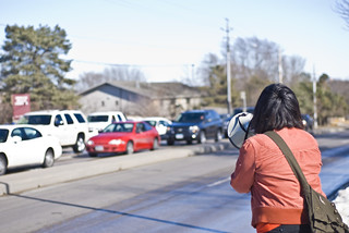 Anti-Torture Vigil - Week 36: Palina On the Bullhorn