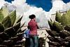 Santo Domingo (Chubakai) Tags: plaza red sky color girl clouds canon mexico rojo chica mario enero cielo nubes convento oaxaca domingo santo dominguez nopales muchacha 2011 oulala 50d ltytr1 oulalacommx chubakai