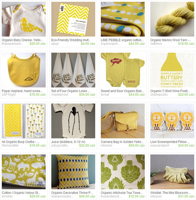 Tuesday Treasury List : Organic