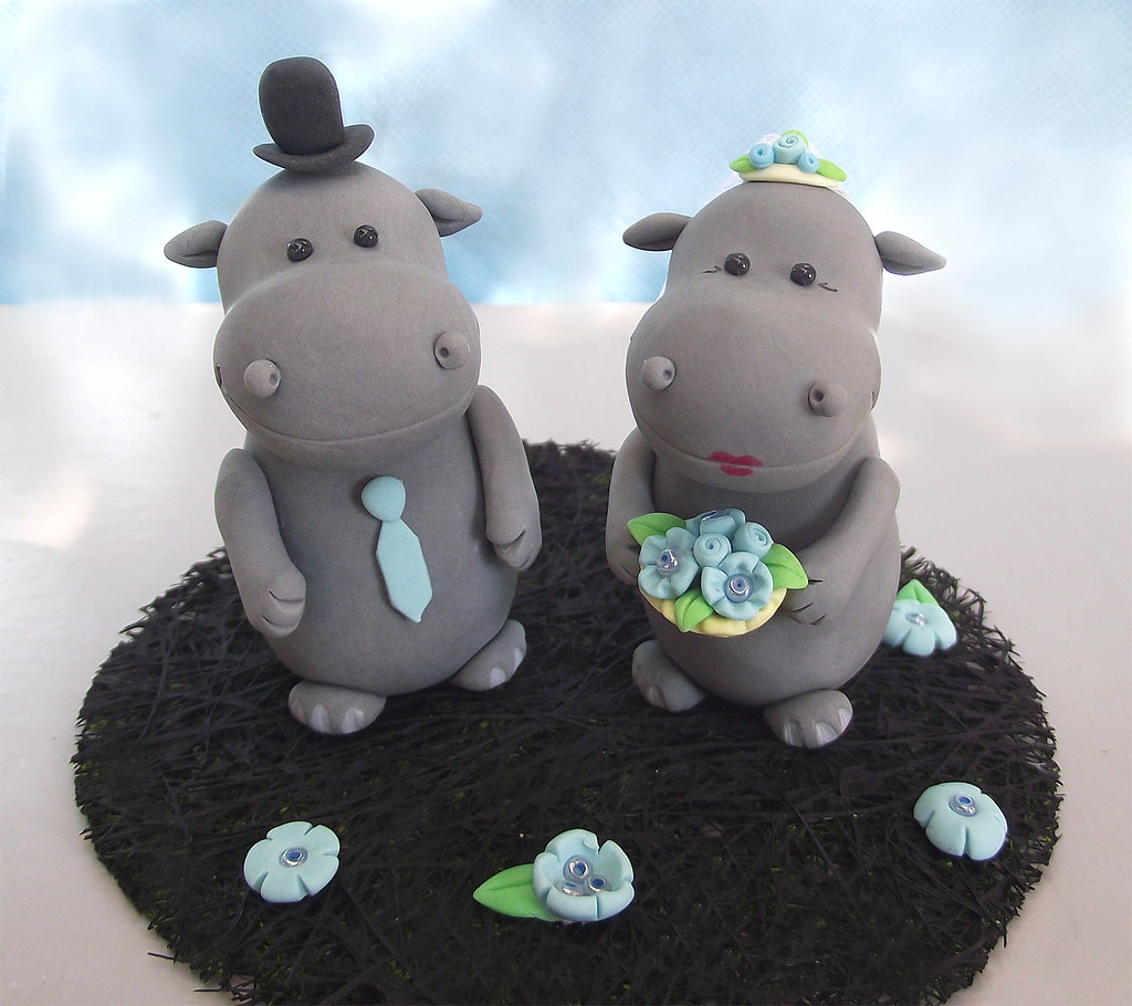 The Worlds Best Photos Of Hippo And Ippopotami Flickr Hive Mind Nero 3 Lovely Hippos Wedding Cake Topper Custom Order Passionarte Tags Sculpture Black