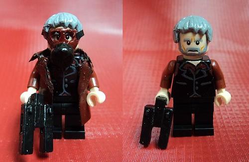 Custom minifig Bloodnofsky - Benjamin Grudnofsky custom lego minifigure