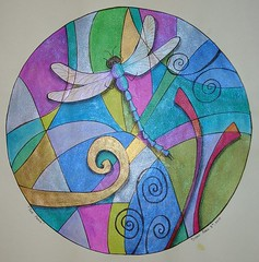 Dragon Fly (DionDior) Tags: art ink paper mandala h2o twinkling twinklingh2o