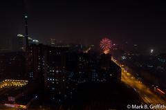 Fireworks over Beijing