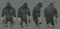 Gorilla_Low_Poly_by_R_o_b_T
