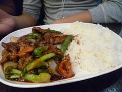 Black Bean Beef $8.90 [Old Town Cafe, Swanston Street]