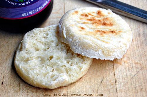 Homemade Vegan English Muffins