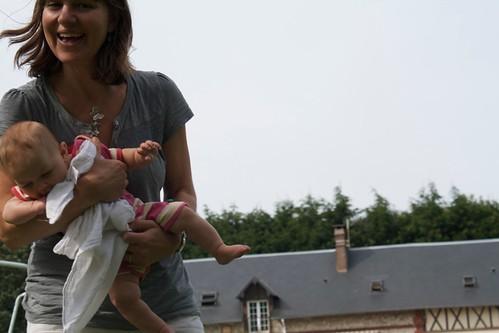 Anna and baby Chloe