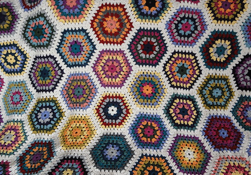 So many hexagons