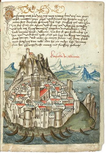 011-Konrad von Grünenberg- Beschreibung der Reise von Konstanz nach Jerusalem 1487- © 2010 Badische Landesbibliothek