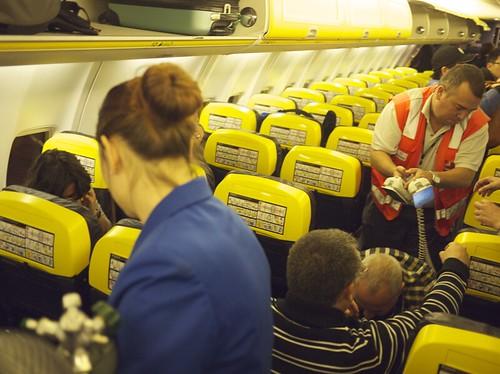 Muerte pasajero Ryanair Tenerife