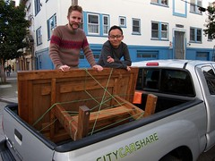 IMG_0254 (helloandyhihi) Tags: truck furniture rope rocknroll carshare chunkysweater