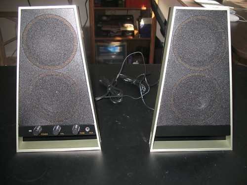 Altec Lansing VS2620 speakers (unboxed)