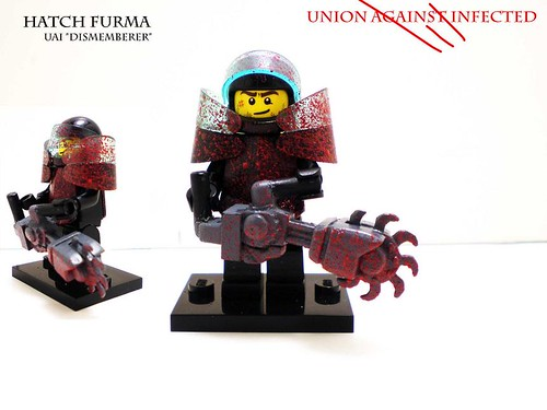 Custom minifig UAI Hatch Furma