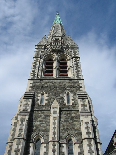 Christchurch Cathedral Spire
