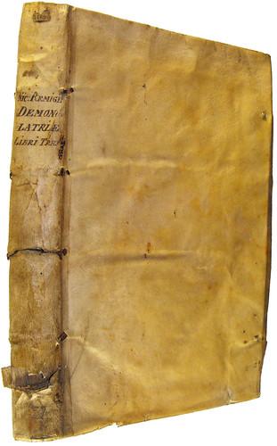 Binding of Daemonolatreiae libri tres