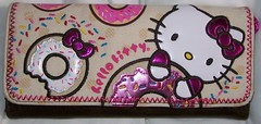 Hello Kitty x Loungefly Donut wallet front