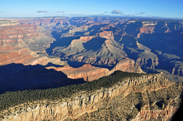 Grand Canyon DEIS Aerial Diana Temple Scorpion Ridge by Grand Canyon NPS