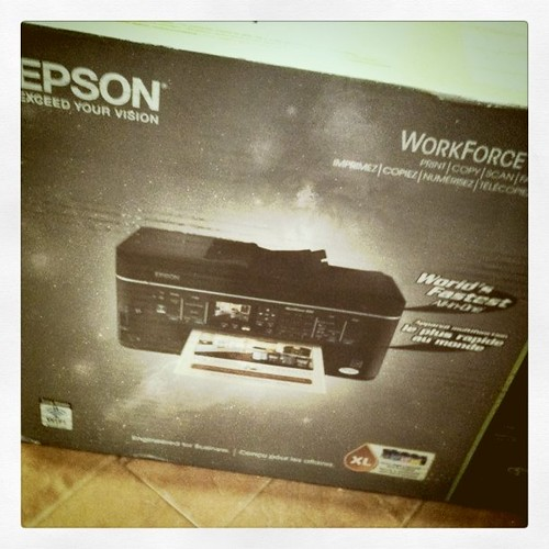 Project 365 55/365: New Epson printer! Woot!
