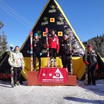 Red Mountain GMC Cup J1 Women GS Podium