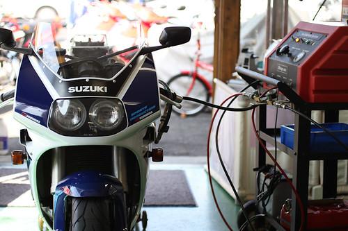 GSX-R400 ドクターカーボン