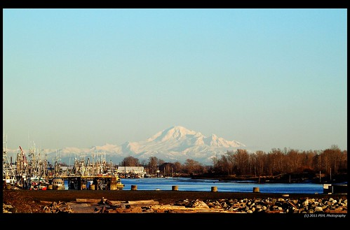 View of Mount Baker from Steveston