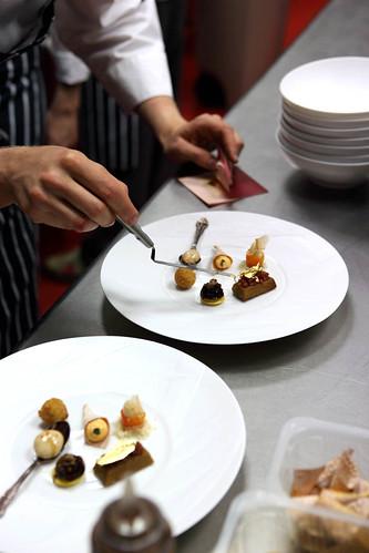 Foto cocinero