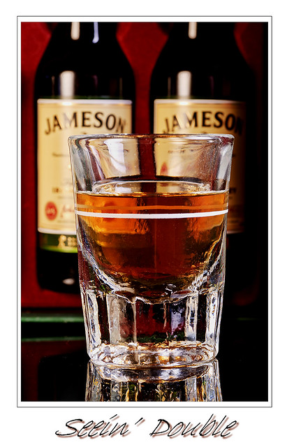 Jameson's Irish Whiskey - Seeing double