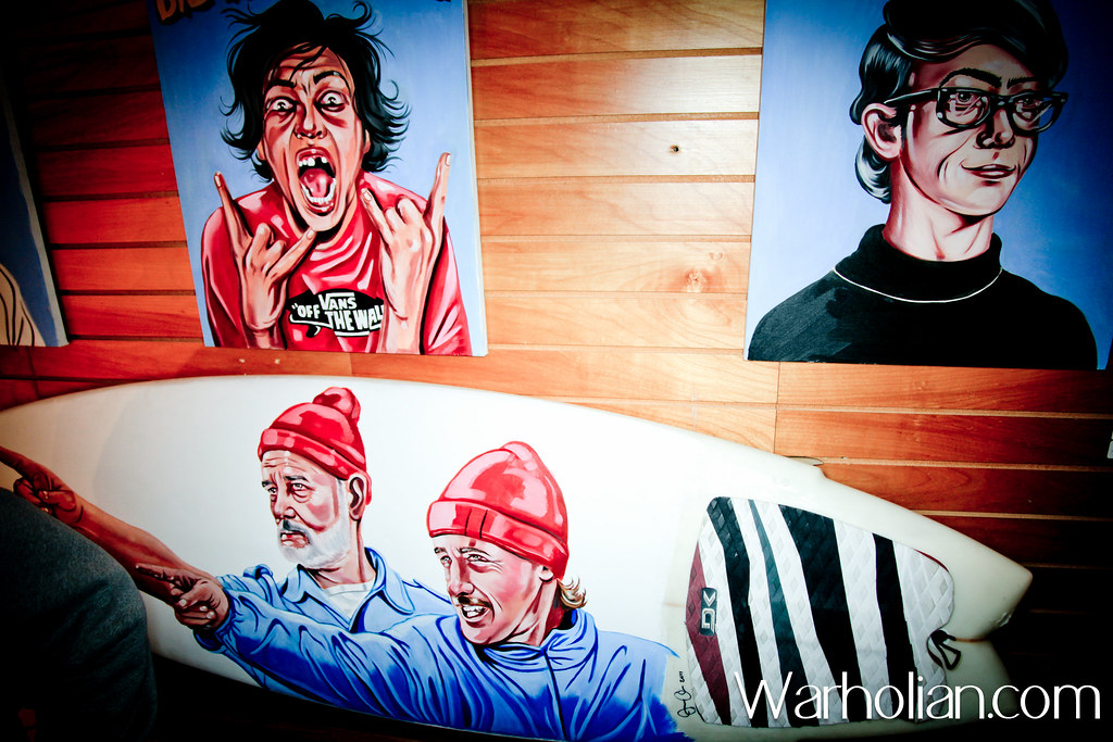 The Set Gallery @ Everybody Bikes Grand Opening - Warholian
