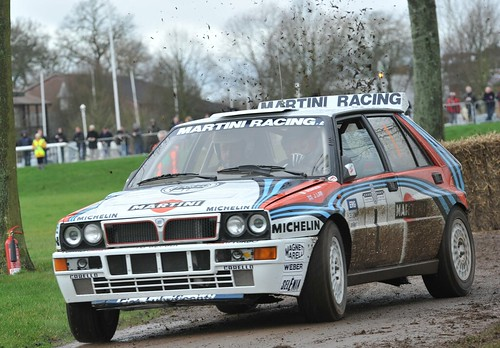 Race Retro 2011-Lancia Delta Integrale-Martini Racing-Rally Car
