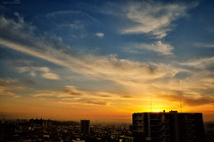 a peaceful dusk 2 (y2-hiro) Tags: sunset sky sunlight clouds skyscape nikon cityscape dusk d300