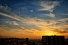 a peaceful dusk 2 (y2-hiro) Tags: sunset sky sunlight clouds skyscape nikon cityscape dusk d300