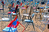 Chairs (!.Keesssss.!) Tags: netherlands horizontal outdoors photography sand chair day nopeople choice multicolored abundance variation gettyimages absence royaltyfree colorimage largegroupofobjects theflickrcollection keessmans 196ksgetty
