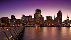 embarcadero twilight2 (paulkellr) Tags: sf sanfrancisco california longexposure sunset twilight downtown lee embarcadero bayarea gnd leefilters