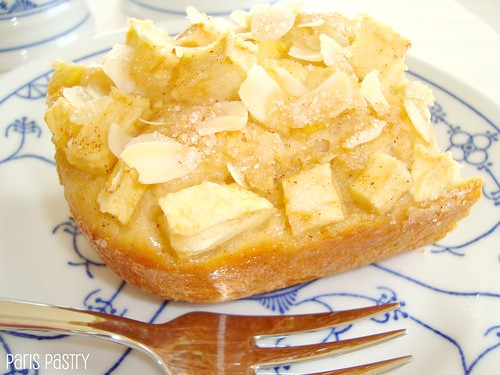 Apple & Slivered Almonds Kuchen