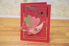 Japanese Paper Quilting Valentines- January 2011 (Craft Fancy) Tags: craftfancy japanesepaperquilting