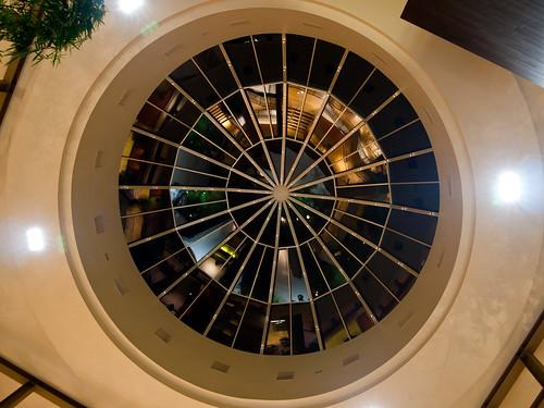 Hyatt Lobby Roof