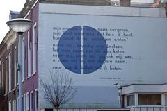 Wall Poem Leiden, Neeltje Maria Min (iharsten) Tags: wall leiden poem nederland neeltjemariamin mijnmoederismijnnaamvergeten