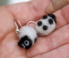 Sheep earrings for Christchurch