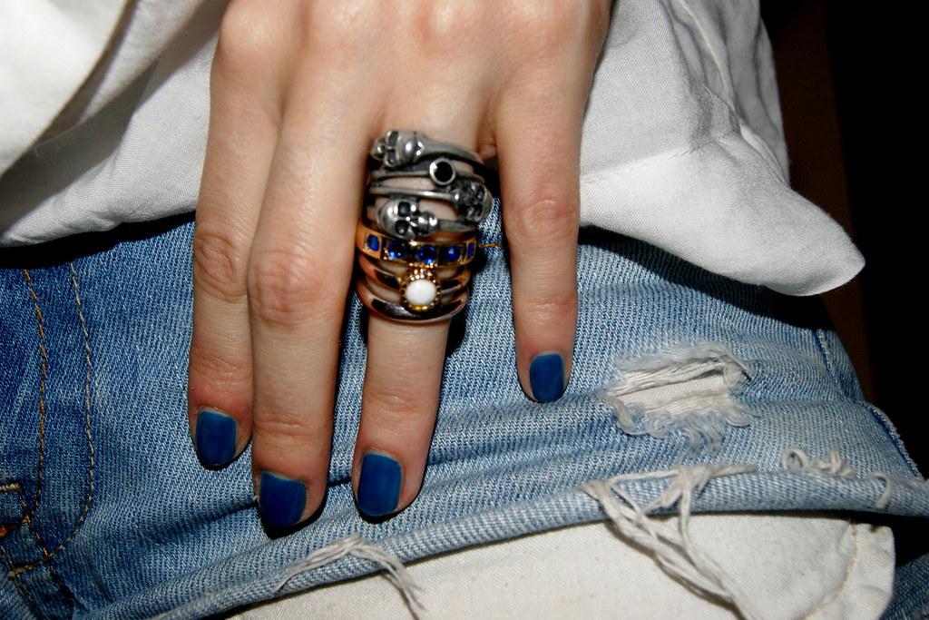 polish blue