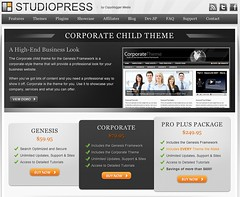 StudioPress Screenshot