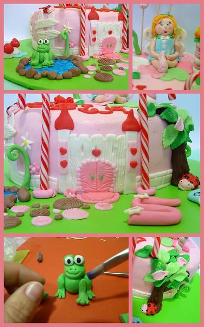 TARTA HADAS DETALLES  / FAIRY CAKE