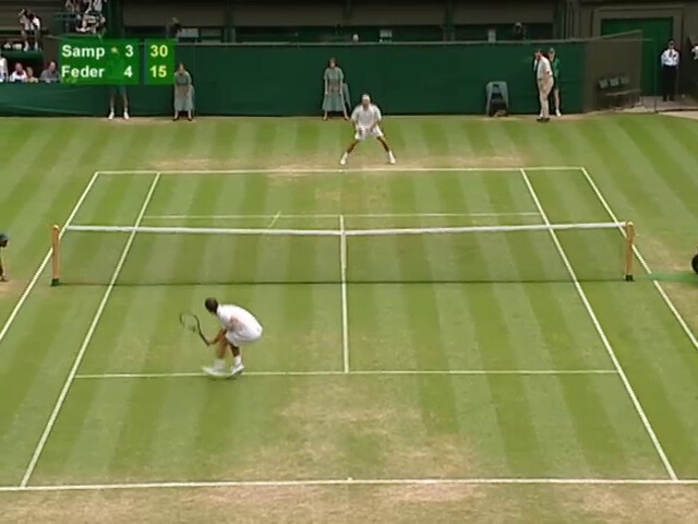 Roger Federer - Pete Sampras