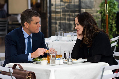 Matt Damon & Emily Blunt in The Adjustment Bureau