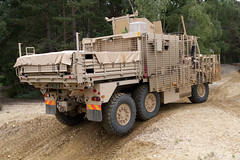 The loadbed for Wolfhound TSV has been supplied by Marshall Land Systems