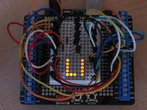 Arduino TA07-11 5x7 Dot Matrix Display