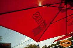 Beautiful out (originalhooters) Tags: sunshine tampa outside outdoors florida sunshade fl clearwater sunumbrella hootersgirls originalhooters meetahootersgirl umbrellahooters