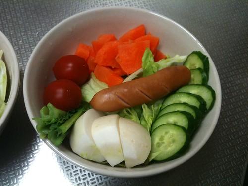 朝食サラダ(2011/3/8)