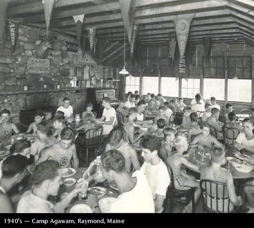 Dinning Hall - Camp Agawam